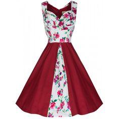 Vibrant Floral 'Avis' Swing Dress