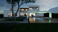 Haus_HRM Style At Home, Mansions, Architecture, House Styles, Frame, Home Decor, House, Arquitetura, Picture Frame