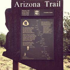 Arizona National Scenic Trail #AZT #ThroughHiking