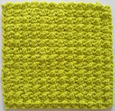 Very Berry Dishcloth or Washcloth - Free Crochet Pattern