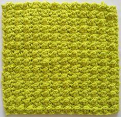 Very Berry Crochet Dishcloth