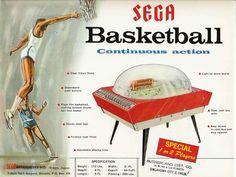 Sega Basketball The Golden Age Arcade Historian: The Early History of Sega - What Was Sega's First Arcade Game Retro Arcade Games, Pinball Games, Flipper Pinball, Penny Arcade, Retro Images, Arcade Machine, Vintage Games, Video Games, Basketball