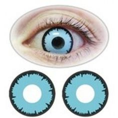 Angelic Blue/ Blue wolf Halloween contact lenses $28.00