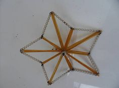 Star from glass tube beadsVintage very rare toy Christmas Christmas Tree Tops, Christmas Star, Vintage Christmas Ornaments, Christmas Tree Decorations, 1950s, Glass Beads, Tube, Stars, Games