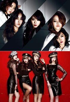 SISTAR VS 4Minute Dream Team preview ~ Latest K-pop News - K-pop News | Daily K Pop News