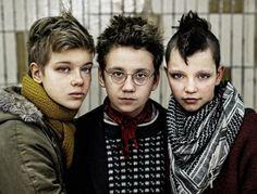 ✄ Punk children.