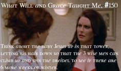Forget Will & Grace!! Karen was the bomb in this show...BANG BANG! bahahahaha