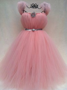 Glinda Tutu Dress I would use this as a starting idea to do it myself not buy it.