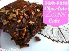 Egg-Free Chocolate Zucchini Cake