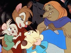 Auntie Shrew in The Secret of Nimh. When Auntie Shrew darted into the field, leapt into the tractor, and chewed the fuel line to save The Brisby family she proved that she's tougher than she looks. Le Secret De Nimh, The Secret Of Nimh, Cartoon Movies, Disney Movies, Strong Female Characters, Cartoon Art Styles, Music For Kids, Bedtime Stories, Dreamworks