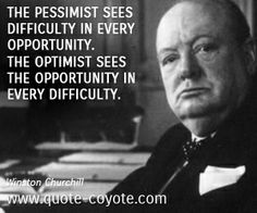 Winston Churchill - great man, with a great blog!
