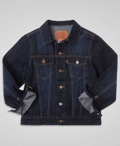 19c50e3544a3 Levi s Toddler Boys  Trucker Jacket - Dark Sky - Bottoms  amp  Jackets Style  Guides