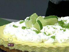 Torta Suflê de Limão - Foto de Mais Você na TV