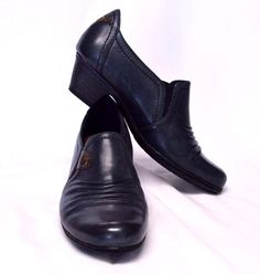 Cobb Hill Adele Leather Low Heel Shootie Shoe Boot Womens 7.5M/38 Navy Blue New #CobbHill #ShoeBoots #WeartoWorkDressyCasual