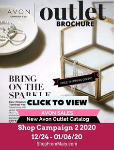 Avon Outlet flyer for January View the latest sales and discontinued products. View and shop the Avon outlet books onlines. Brochure Online, Avon Brochure, Avon Catalog, Catalog Online, Avon Outlet, Chi Hair Products, Avon Sales, Catalog Shopping, Avon True