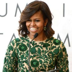 Michelle Obama Leads a Fashion Workshop at the White House  - HarpersBAZAAR.com