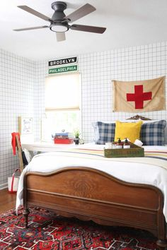 The ORC Reveals That Blew Us Away And The Design Lesson From Each You Can Use In Your Home - Emily Henderson | Interior Design Before and After Cozy Bedroom, Master Bedroom, Spring One, Summer Stripes, Challenge Week, New Room, Child's Room, Guest Room, Kids Room