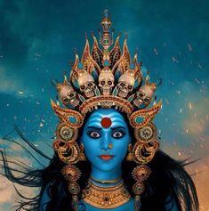Kali Mata, Kali Shiva, Shiva Hindu, Hindu Art, Lord Shiva, Mother Goddess, Goddess Art, Goddess Lakshmi, Kali Tattoo