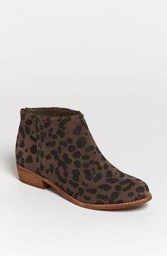 Hello, cheetah print bootie.