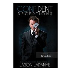 Confident Deceptions by Jason Ladanye and Vanishing Inc (Book w/DVD) - Book