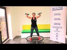 Bounce Fit workout with Weights (Rebounding) Workout Motivation Music, Workout Music, Fitness Motivation, Rebounder Trampoline, Trampoline Workout, Fit Board Workouts, Exercise Workouts, Workout Ideas, Fitness Workouts