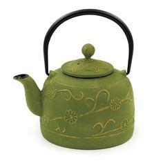 Cast Iron Tea Kettle.