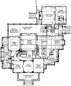 19 Best House Plans images | Home decor, Home plans, Bathroom floor Eplans House Plans Floor Hwepl on