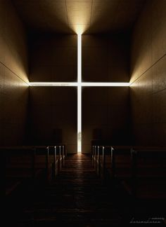 Something that has always inspired me, influenced me and impressed me. Simplicity indeed is the best. Church of Light- Tadao Ando