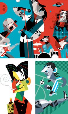Character Illustrations by Pablo Lobato