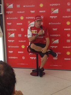 #Kimi #Raikkonen #KimiRaikkonen #iceman #f1 #Monza #ItalianGP #FerrariITAGP {Saturday, 09 06,2014} pic18