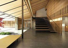 Architect Kengo Kuma has designed an expansion scheme for the Portland Japanese Garden.