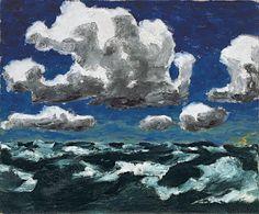 Nubes de verano - Emil Nolde | Museo Thyssen