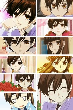 the many faces of haruhi           Haruhi Fujioka
