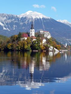Lake Bled, Slovenia One of the best holidays I've been on!