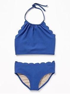6665d4241c Reversible Print Bikini Swim Set for Girls | Old Navy Swim Sets, Girls  Bathing Suits