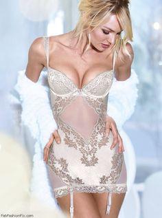 Candice Swanepoel for Victoria's Secret lingerie