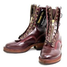 Wesco Jobmaster, Burgundy, Leather Lining Thinsulate, 10height, 705sole, Western Toe, Lace in Zipper, JM41