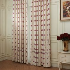 Country Small petals one by one Energy Saving Curtain Kids Curtains, Save Energy, Nursery, Shower, Country, Prints, Home Decor, Rain Shower Heads, Decoration Home
