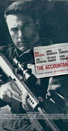 Directed by Gavin O'Connor.  With Ben Affleck, Anna Kendrick, J.K. Simmons, Jon Bernthal. As a math savant uncooks the books for a new client, the Treasury Department closes in on his activities, and the body count starts to rise.