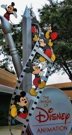 Magic of Disney Animation - Disney's Hollywood Studios - where I learned how to draw Mickey :)