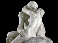 This beautiful Rodin piece was inspired by Dante's Paolo and Francesca.