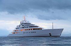 180m Lurssen mega yacht AZZAM designed by Nauta - Photo by Giovanni Romero/TheYachtPhoto.com