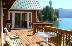:: Lake Quinault, Washington :: View from Deck