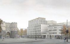 Caruso St John . Rudolfplatz mixed use building . Cologne (1)