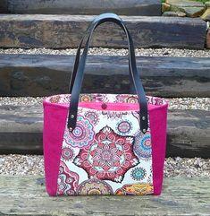 Tote, Bag, Pink Tote, Tweed Tote, Everyday Tote, Ladies Tote, Shopping tote £75.00