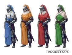 Quest Knights by morot on deviantART
