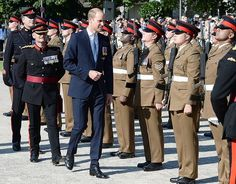 Prince William, Duke of Cambridge visits Germany