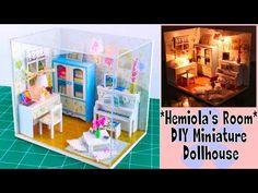 Miniature Baby Carriage Tutorial // DIY Dolls/Dollhouse - YouTube
