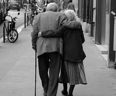 Old people that are still so in love, we have so much to learn from them.