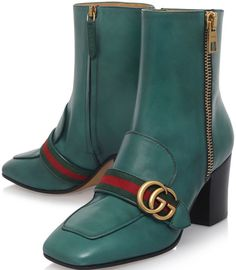 Gucci Leather Boots